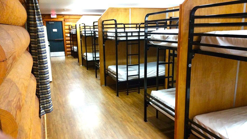 double decker bed